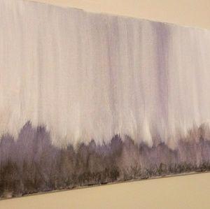 """Original painting """"Purple Rain"""""""